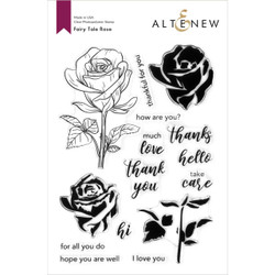 Fairy Tale Rose, Altenew Clear Stamps -