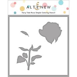 Fairy Tale Rose, Altenew Stencils -