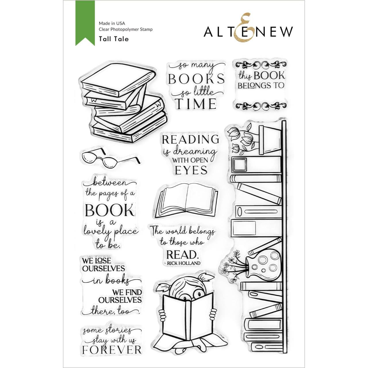 Tall Tale, Altenew Clear Stamps -