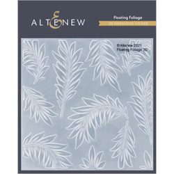Floating Foliage 3D, Altenew Embossing Folder -