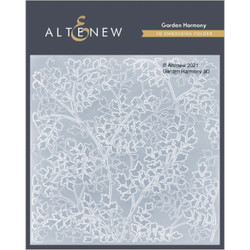 Garden Harmony 3D, Altenew Embossing Folder -