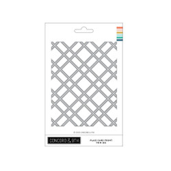 Plaid Card Front Thin, Concord & 9th Dies -