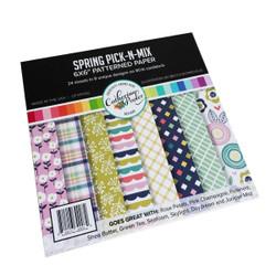 Spring Pick-n-Mix, Catherine Pooler Patterned Paper -