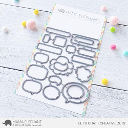 Let's Chat, Mama Elephant Creative Cuts -
