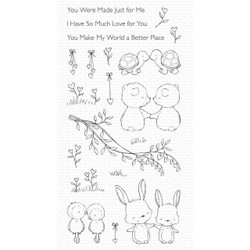 Being With You by Stacey Yacula, My Favorite Things Clear Stamps -
