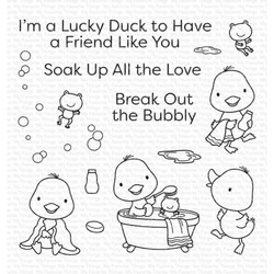 Lucky Duck, My Favorite Things Clear Stamps -