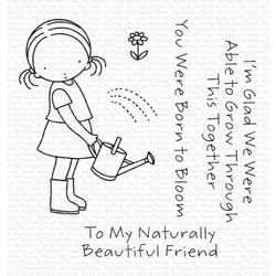 Pure Innocence - Grow Together, My Favorite Things Clear Stamps -