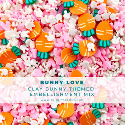 Bunny Love, Trinity Stamps Embellishments -
