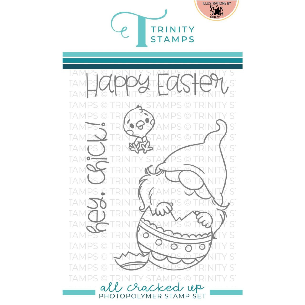 All Cracked Up, Trinity Stamps Clear Stamps -