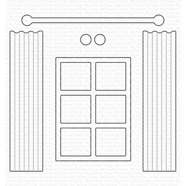 Window Dressing, My Favorite Things Die-Namics -