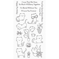 Housecats, My Favorite Things Clear Stamps -