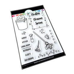 Spring Cleaning, Catherine Pooler Clear Stamps -
