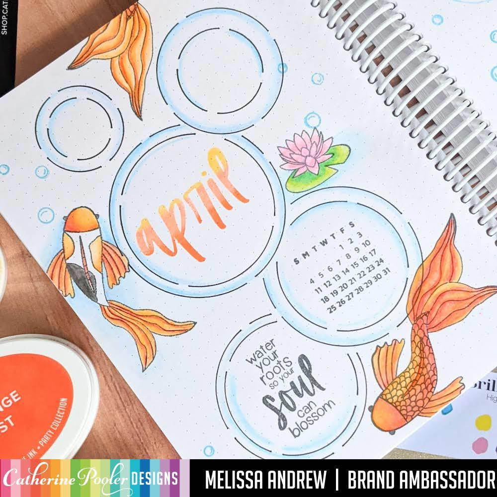 Koi Pond, Catherine Pooler Clear Stamps -