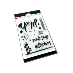 April Reflections, Catherine Pooler Clear Stamps -