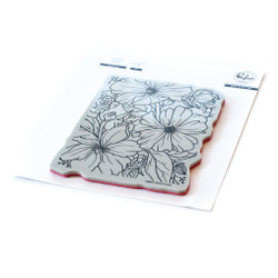 Floral Focus, Pinkfresh Studio Cling Stamps -