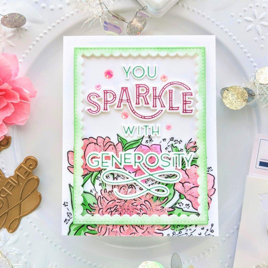 You Sparkle, Pinkfresh Studio Hot Foil Plates -