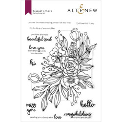Bouquet of Love, Altenew Clear Stamps -