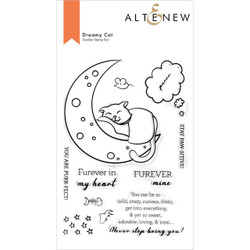 Dreamy Cat, Altenew Clear Stamps -