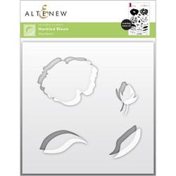Marbled Bloom, Altenew Mask Stencil -