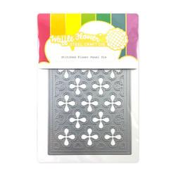 Stitched Flower Panel, Waffle Flower Dies -