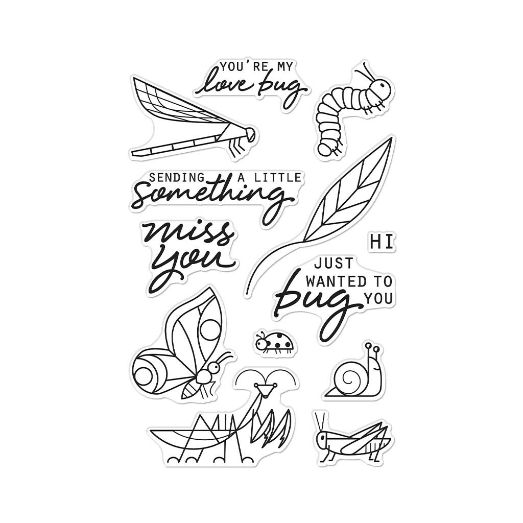 Bug You, Hero Arts Clear Stamps -