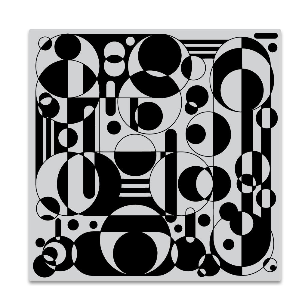 Circles and Cylinders Bold Prints, Hero Arts Cling Stamps -