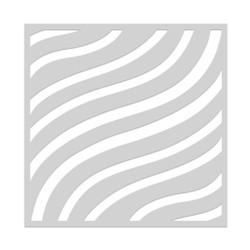 Flowy Stripes, Hero Arts Stencils -