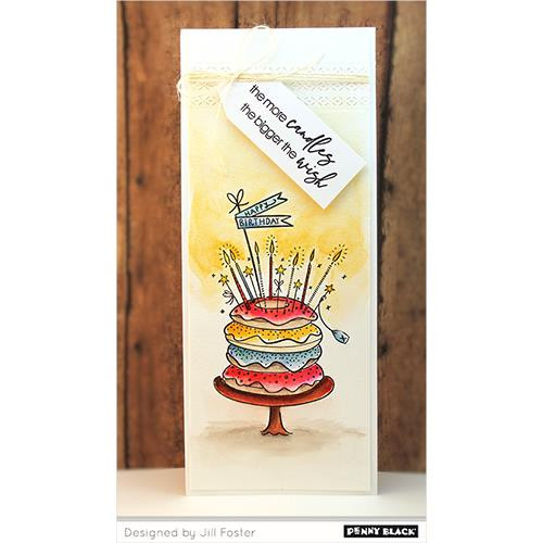 Better With  Age, Penny Black Clear Stamps -