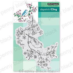 Bird's-Eye View, Penny Black Cling Stamps -