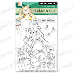 Birthday Bundles, Penny Black Clear Stamps -