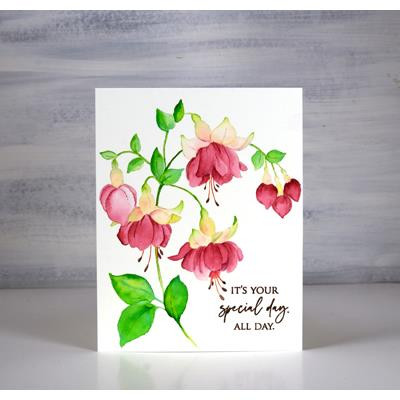 Captivating, Penny Black Cling Stamps -