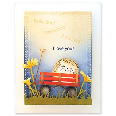 Cheering, Penny Black Clear Stamps -