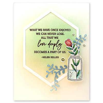 Condolences, Penny Black Clear Stamps -