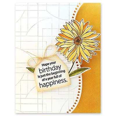 Contemporary, Penny Black Cling Stamps -