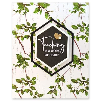 Enlightened, Penny Black Cling Stamps -