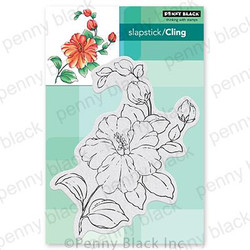 Florescence, Penny Black Cling Stamps -