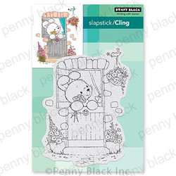 Fur & Feathers, Penny Black Cling Stamps -