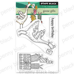 Goose Gifts, Penny Black Clear Stamps -