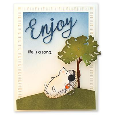 Melodious, Penny Black Clear Stamps -