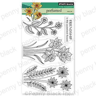 Perfumed, Penny Black Clear Stamps -