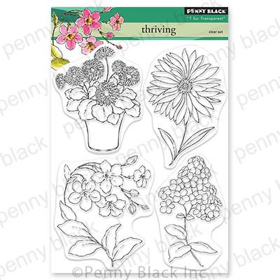 Thriving, Penny Black Clear Stamps -