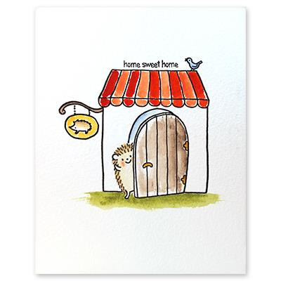 Welcome, Penny Black Clear Stamps -