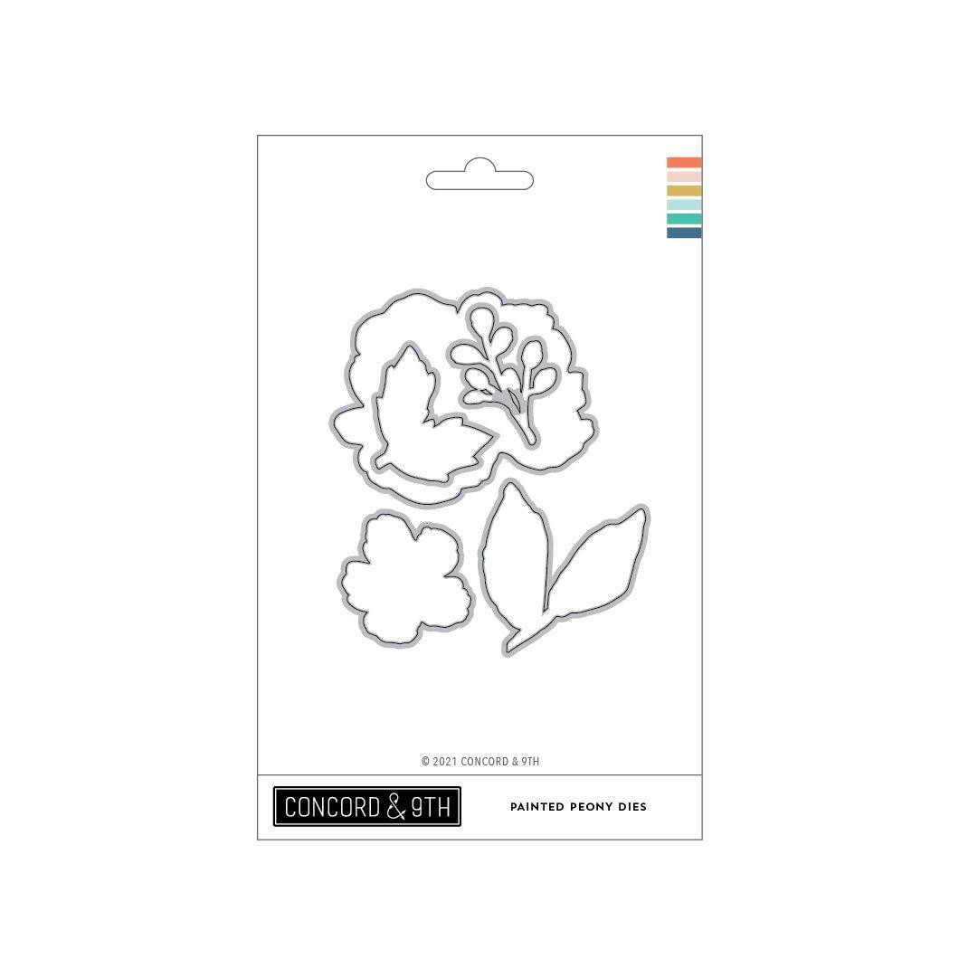 Painted Peony, Concord & 9th Dies -