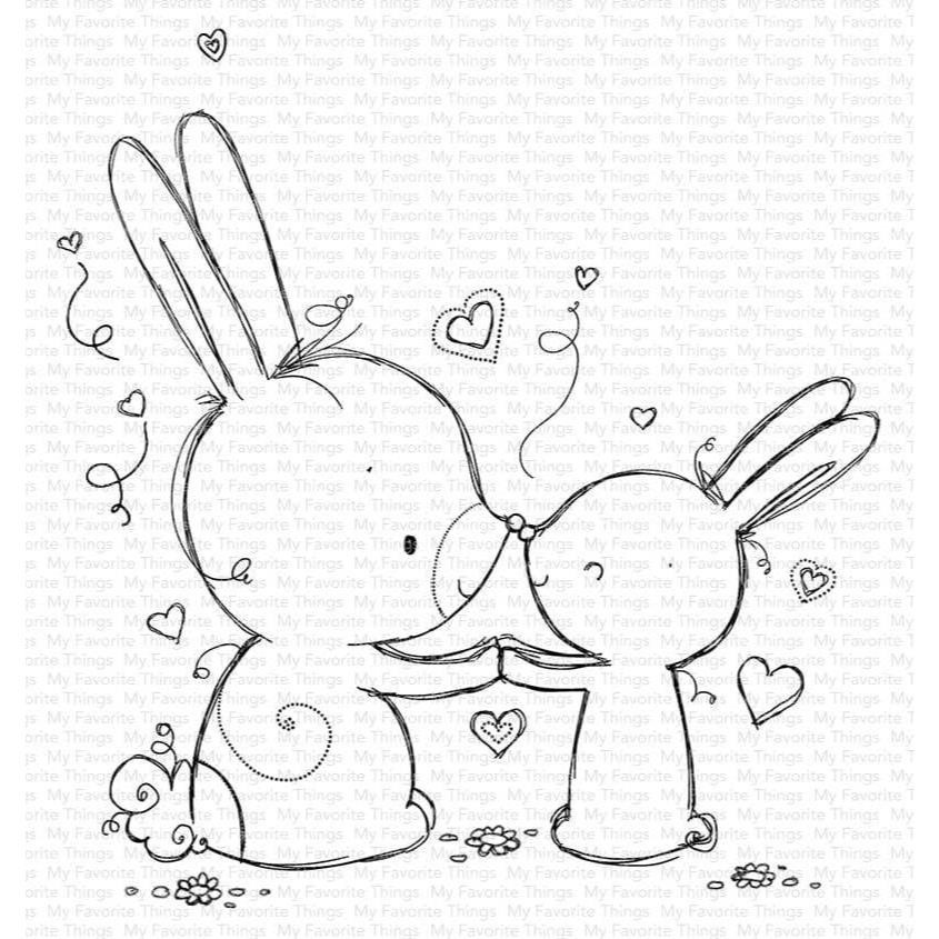 Bunny Wishes by Rachelle Anne Miller, My Favorite Things Clear Stamps -