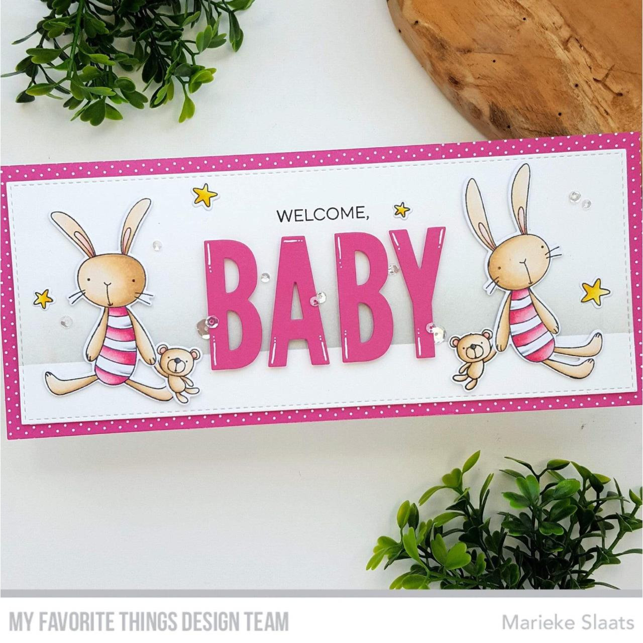 Favorite Somebunny, My Favorite Things Clear Stamps -