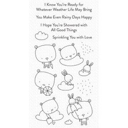 Sprinkling You with Love, My Favorite Things Clear Stamps -