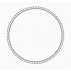 Stitched Circle Shaker Window, My Favorite Things Die-Namics -