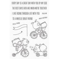 Wheelie Great Friend, My Favorite Things Clear Stamps -