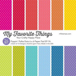 Poppin' Polka Dots, My Favorite Things Paper Pack -