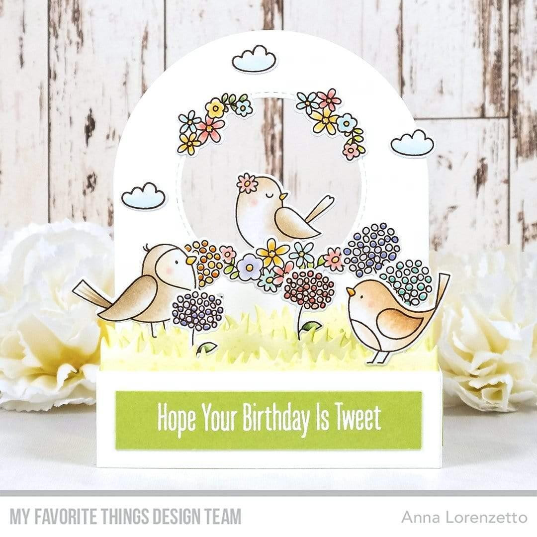 Spring Songbird, My Favorite Things Clear Stamps -